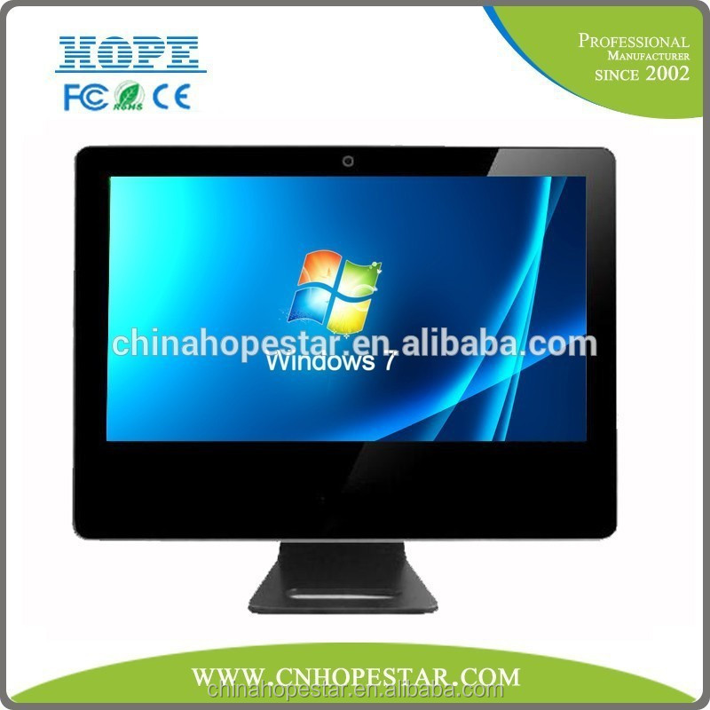 Win7/8 desktop 15.6 inch touch all in one pc