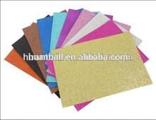 High quality shiny glitter eva paper sheet
