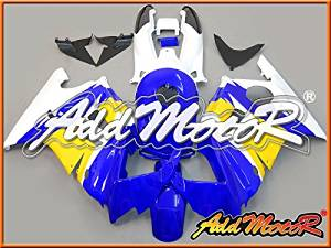 Addmotor Injection Mold Fairing Fit F3 CBR600 1995 1996 Plastic Blue White H3536