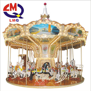 High quality amusement park toy carousel horse rides for sale