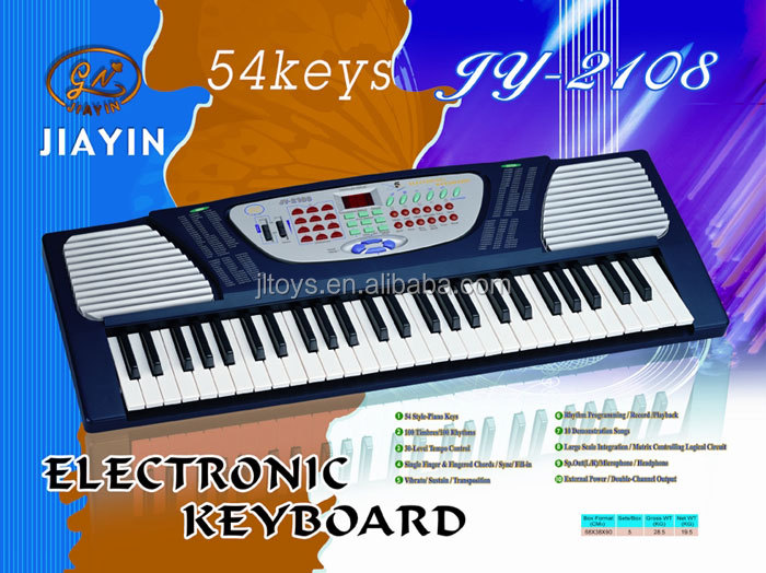 children best gift educational toy 54 keys electronic organ keyboard for sale