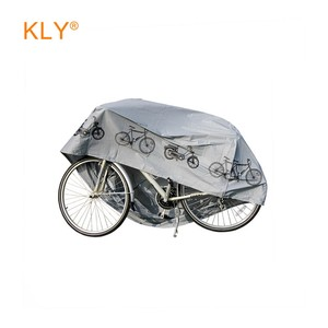outdoor white PEVA forbic heat Protection waterproof dust proof bicycle cover