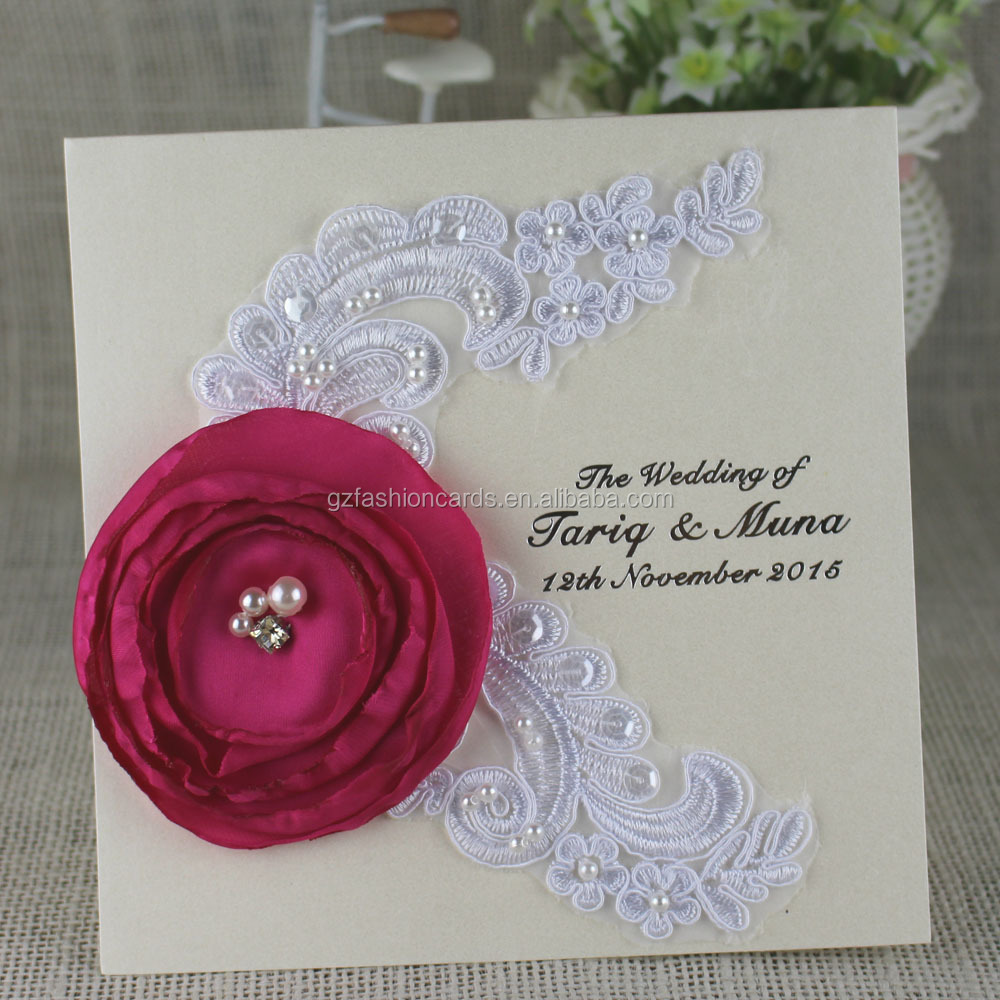 Lace Pearl Wedding Invitations, Lace Pearl Wedding Invitations ...