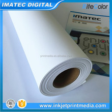 Manufacturer Supply 280gsm Waterproof Digital Printing Inkjet Canvas for Pigment ink and Dye ink