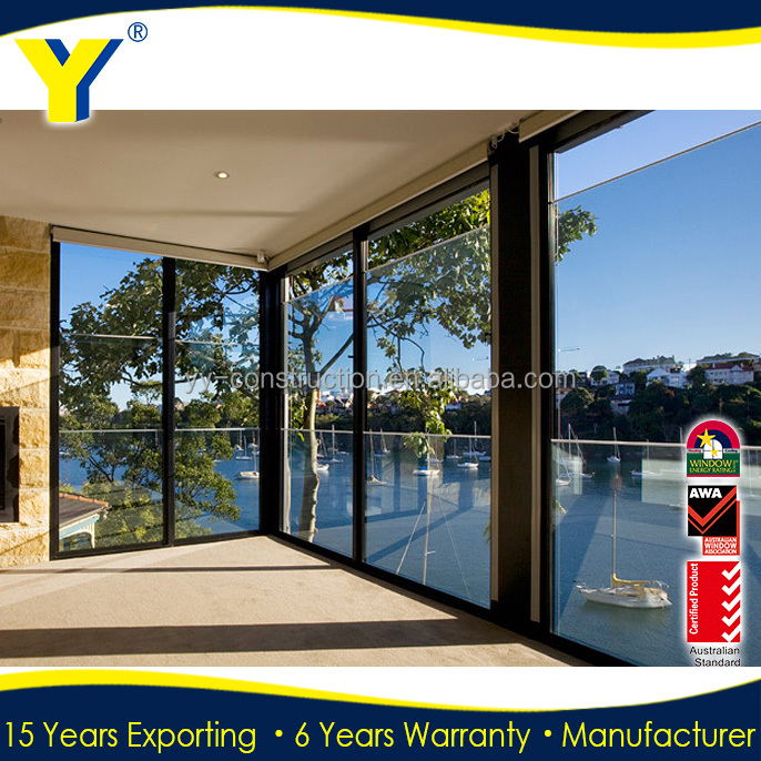 Aluminium Profile Horizontal Sliding Garage Doors Terrace Sliding ...
