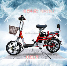 CE lithium battery Bike/ mini electric bike / electro moped for cheap price