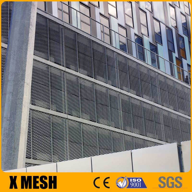 Electro Galvanized Steel Standard Expanded Metal for Louvers