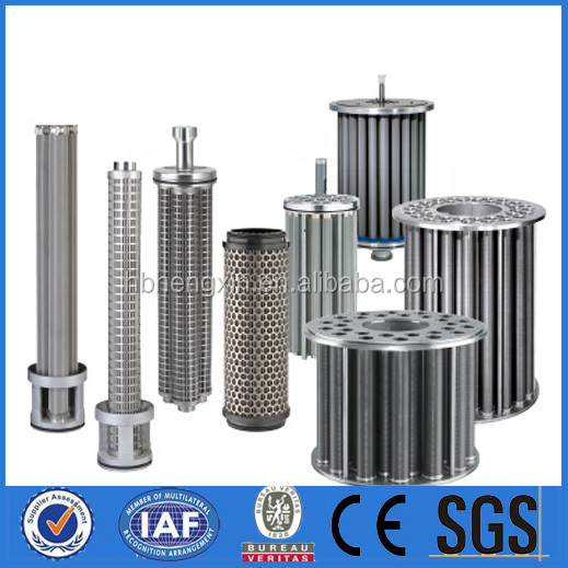 Oil filter hydraulic oil filters element for construction machine