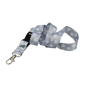 Custom Camouflage Sublimation Printing Polyester Elastic Cord Neck Cup Holder Lanyard
