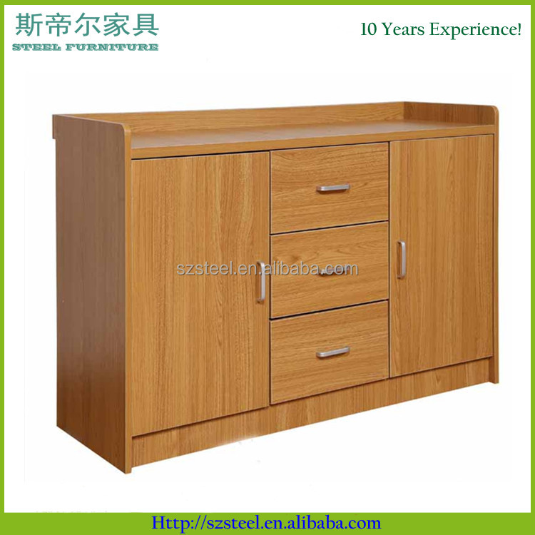 bedroom wood storage cabinet, MDF wood cabinet with drawers