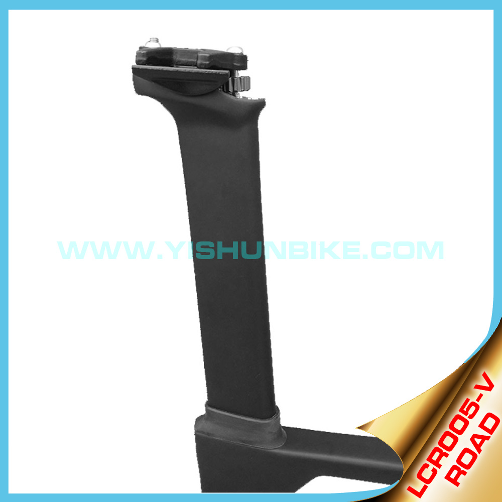 OEM painting, high quality comfortable carbon frame 700C road carbon frame China factory outlet