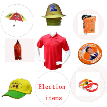Customized Logo election and promotion business  gift  cap  shopping bag with printing logo for election items