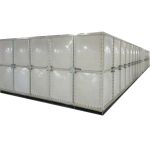 1000 gallon grp grp fiber sectional water storage tank