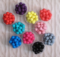 Colorful silicone beads best selling silicone chewable beads for necklace