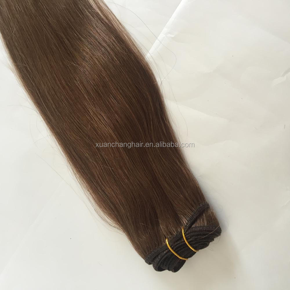 Wholesale Brazian Virgin Micro Braid Bead Weft Hair Extensions