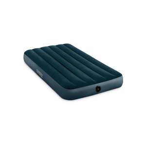 INTEX 64731High Quality PVC downy airbed inflatable air mattress for camping mat