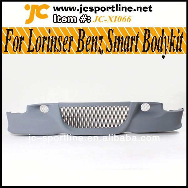smart front bumper,Car Body Kits For Lorinser Benz Smart 09-13 Wide Style