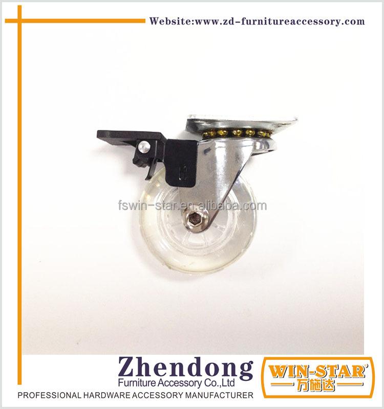 Zd p012 a 2 pulgadas giratorio muebles castor rueda de - Muebles castor ...