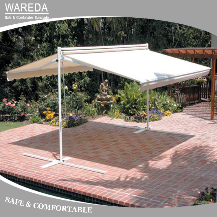 Double Sides Retractable Flex Retractable Awning