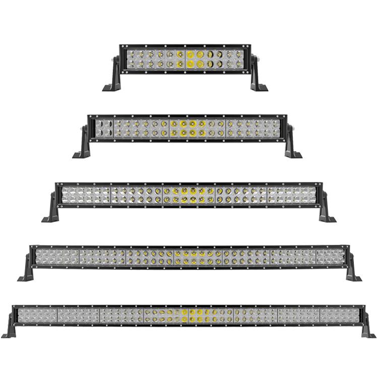 Optical Led Single Row Light Bar Spot Boat UTE Truck 50//52 300W 51inch 250W 4D