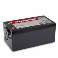 Hot Sale!!! 12v 260ah Deep Cycle Battery Marine Battery agm Battery