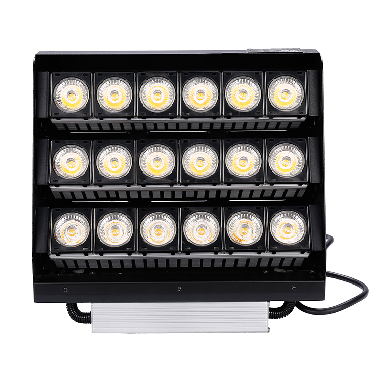 100W LED Floodlight Modular Spotlight Outdoor Project Lamp Warm White IP67 UK