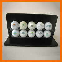 Low price good quality Shenzhen factory acrylic golf ball display case