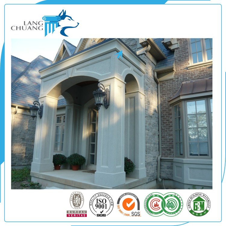 Cement Frame Material Non-deforming GRFC Building Decorative Cornices