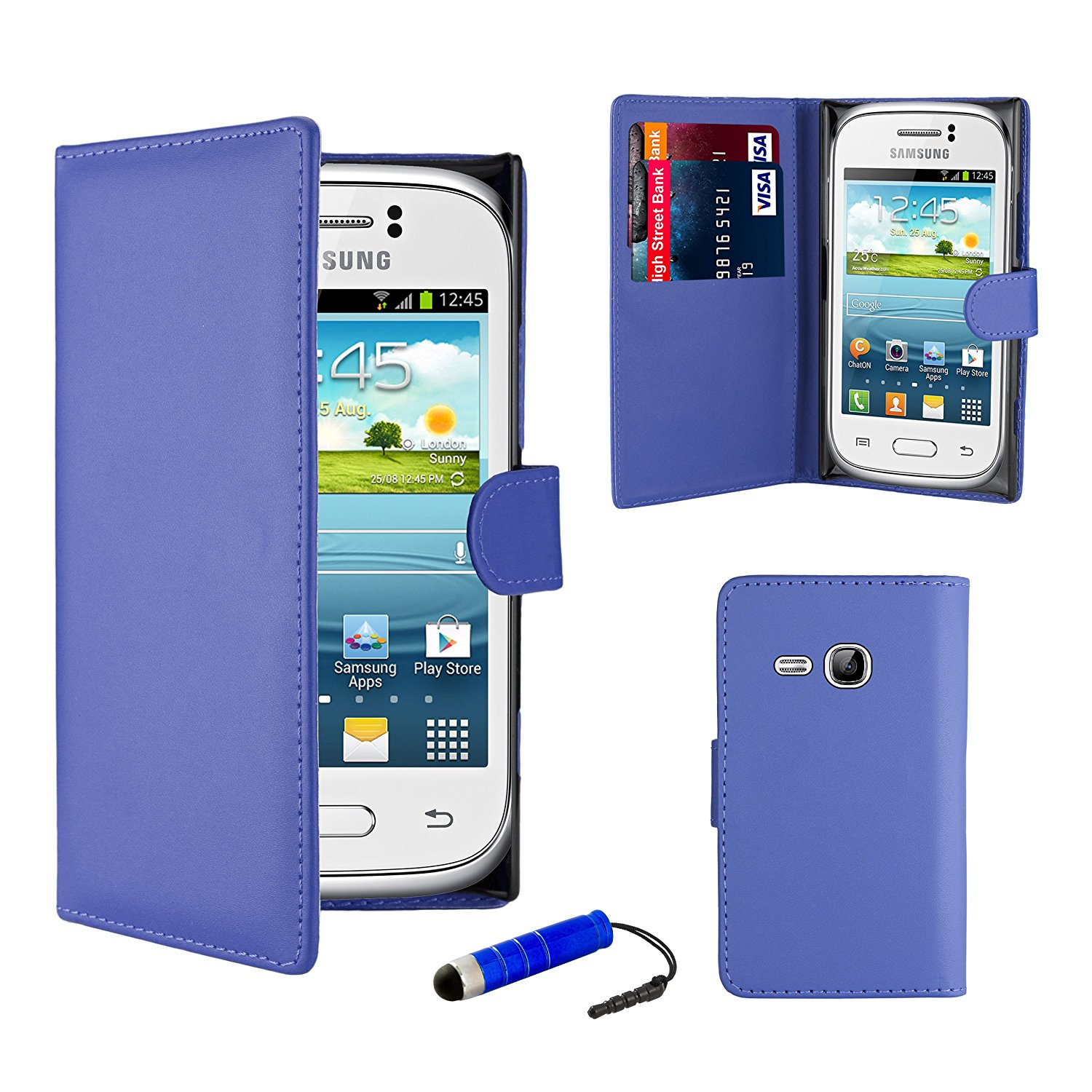 Cheap Samsung Young New S6310 Find Deals On Galaxy Get Quotations 32nd Book Wallet Pu Leather Case Cover For Including Screen Protector
