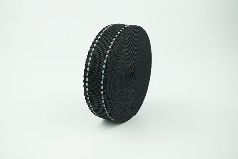 custom pp webbing tape reflective webbing textile ribbon