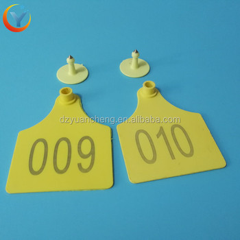 Whole Cow Tag Earrings Supplier Ear For Cattle Animal Identification Mark