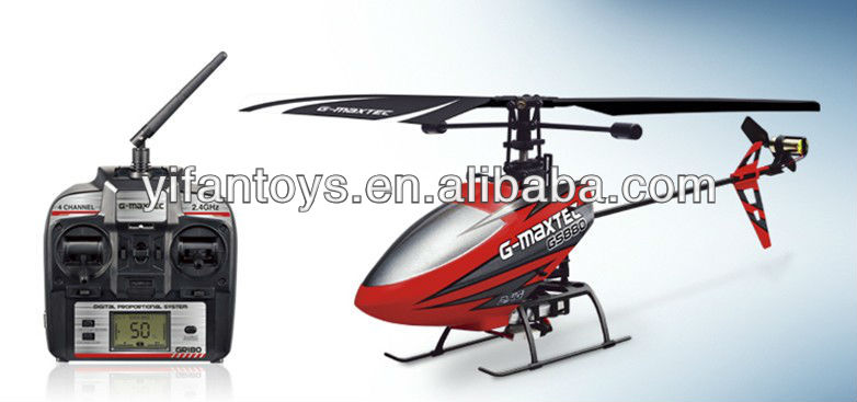 Shantou Toys Factory 4CH Single Blade Remote Control Helicopter G-MAX 880 Good Quality