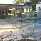 Tempered Swimming Pool Cover Clear Panel Fence Panels Glass For Swim