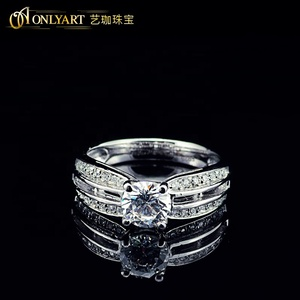 Shenzhen Jewelry wholesale fashion silver ring for man