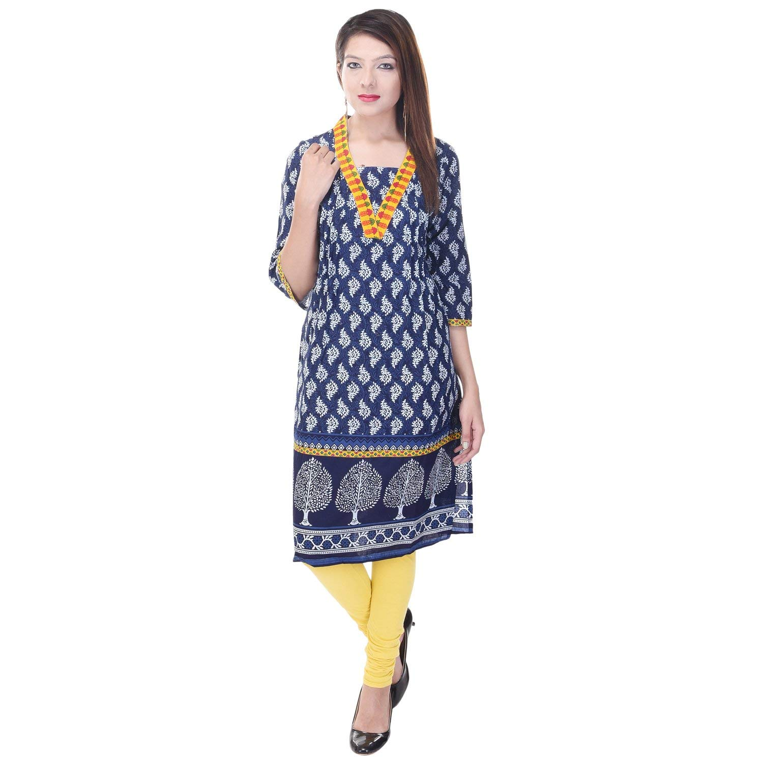 bf5176fb34 Get Quotations · Vihaan Impex Kurtis Kurtis for Women Kurtas for Women  Indian Kurti for Women