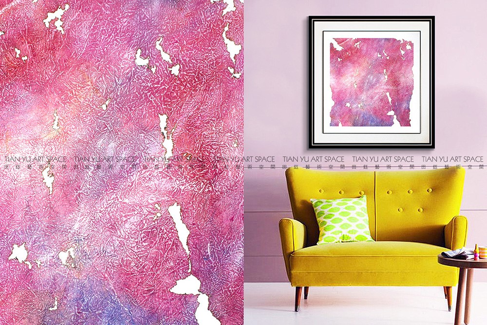 Yes Frame Home Decor Living Room Scenery Painting Decorative Metal ...