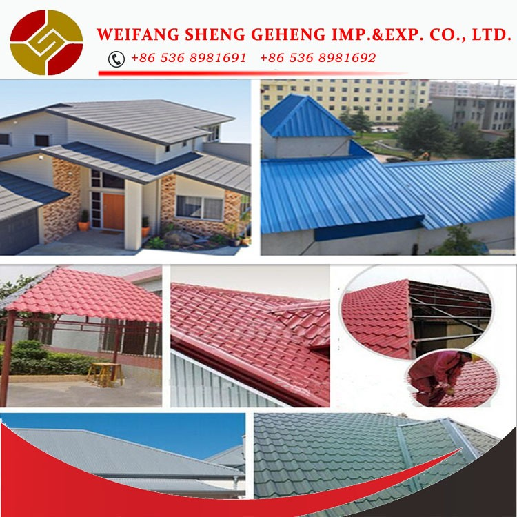 Corrugated Roofing Accessories : Black corrugated metal roofing sheet buy