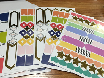 removable adhesive art paper a4 a5 sticker sheet art paper printing