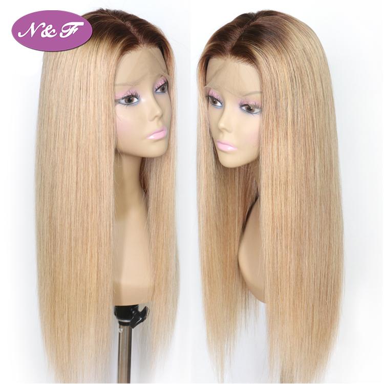 1b/613 Blonde Human Lace Wigs Brazilian Hair Wigs Human hair Full Lace Wigs фото