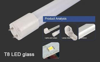 54w T8 Tube Lighting Led Zoo Tube 36 Fluorescent Light Fixture 5w ...