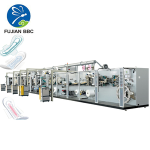 Modular auto control sanitary towel machine fast sanitary napkins manufacturing full servo female sanitary pads making machine