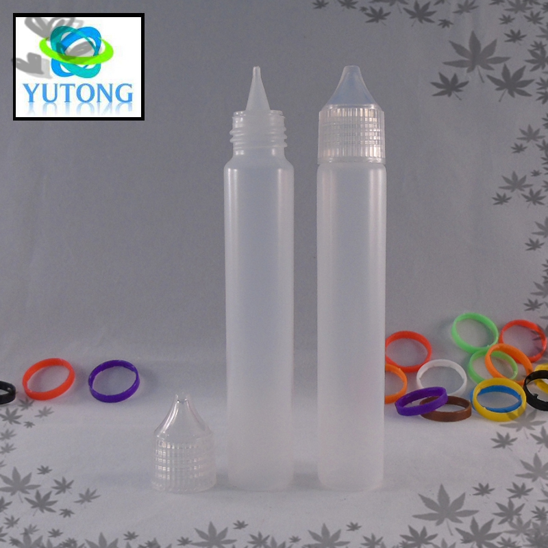 hot selling 30ml plastic PE e cigarette liquid bottle with twist cap for big vapor