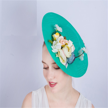 0ff3023cc37a5 Australian ladies Fashion elegant race tea party cocktail Kentucky derby  rose flower sinamay fascinator hat