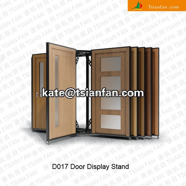High Quality D017   Push Pull Wood Door Display Rack Stand   Buy Wood Door Display Rack,Wood  Door Display Stand,Push Pull Door Rack Product On Alibaba.com