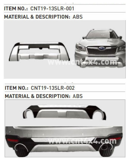 Auto Parts Exporters Protection Bumper FORESTER 2013+