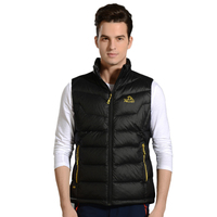 High Quality Customs Brand Mens Winter Jackets Waterproof White Duck Down Vest Jacket