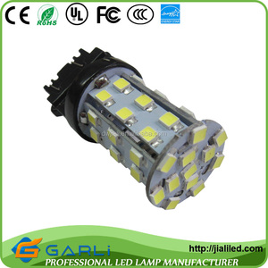 LED Car modification LED Lamp Type led side marker lights trailer trucks base 3457 3057 t25 3156 3157 42smd2835 12v