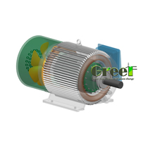 100KW Wind Turbine / High Quality / Low rpm Permanent Magnet Alternator