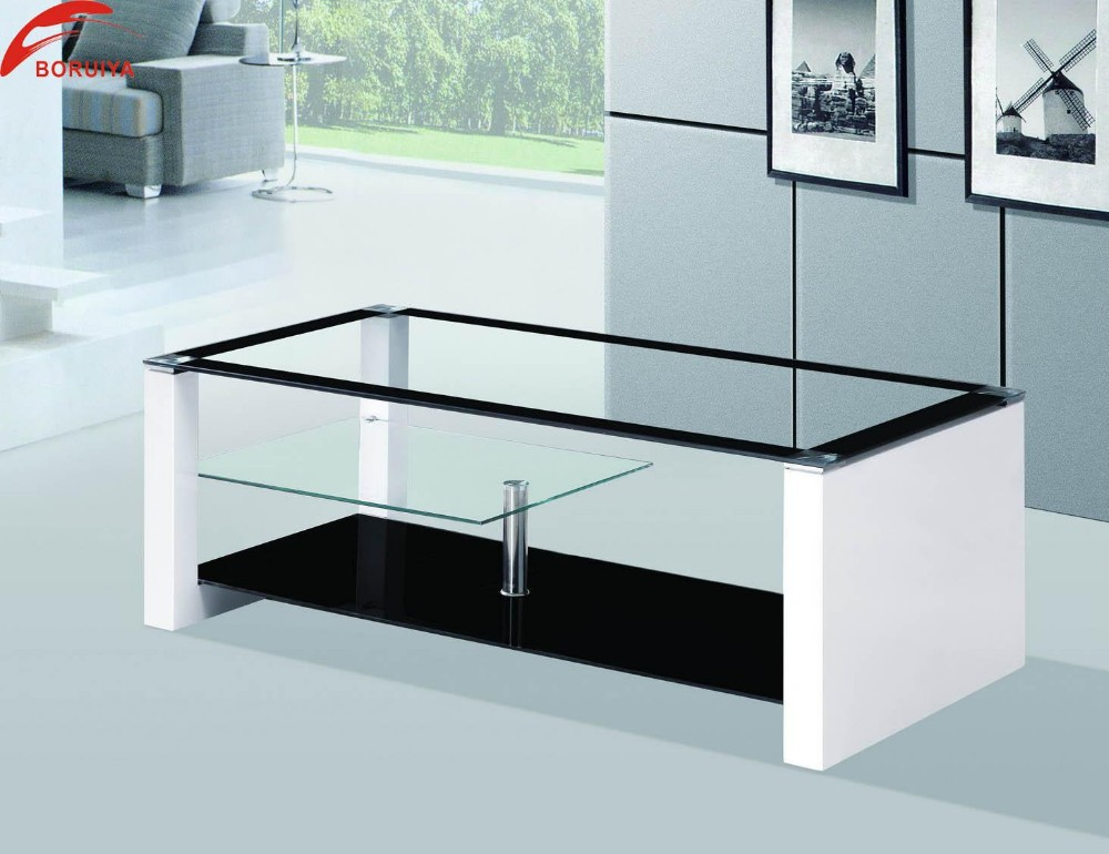 Modern glass center table for living room living room for Best centre table designs
