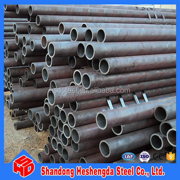 ASTM A192 ERW welded black carbon steel pipe for building